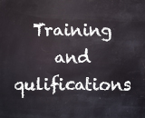Training and qualifications