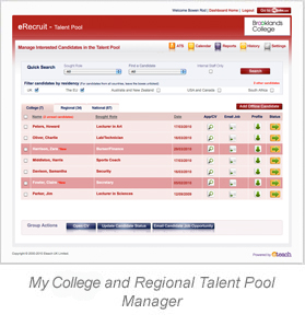 Talent Pool Manager