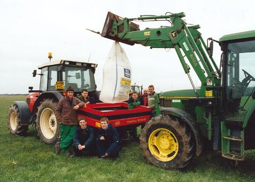 Land-based Students and Tractor.jpg